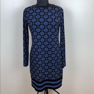 Michael kors elegant blue dress size M